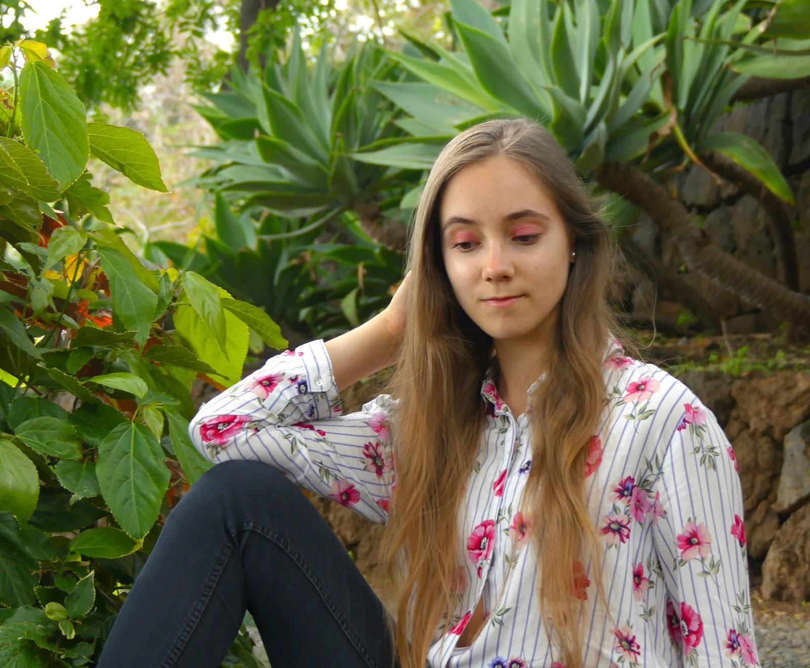 tropical flowers & eighteen
