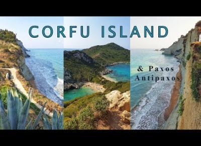 KORFU | najpiękniejsze miejsca + rejs na Paxos i Antipaxos