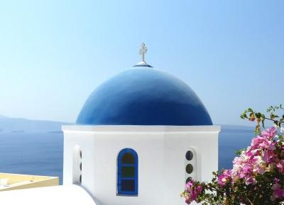 Nicolle's blog: Santorini, Grecja