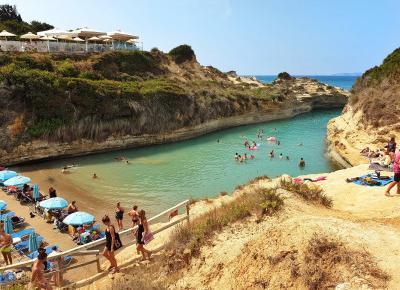 Sidari na Korfu - kanał miłości, plaże, atrakcje...