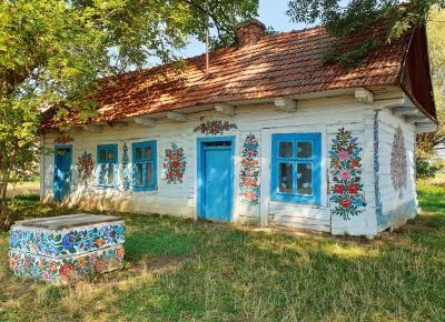 Zalipie - najpiękniejsza wieś w Polsce  - nicolestraveljournal - blog