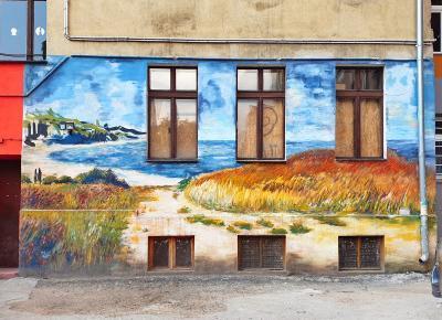 Wrocławski street art | kolorowe podwórka pełne sztuki