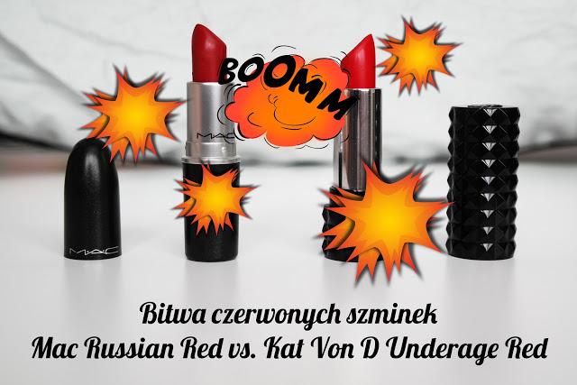 Bitwa czerwonych szminek | Mac vs. Kat Von D