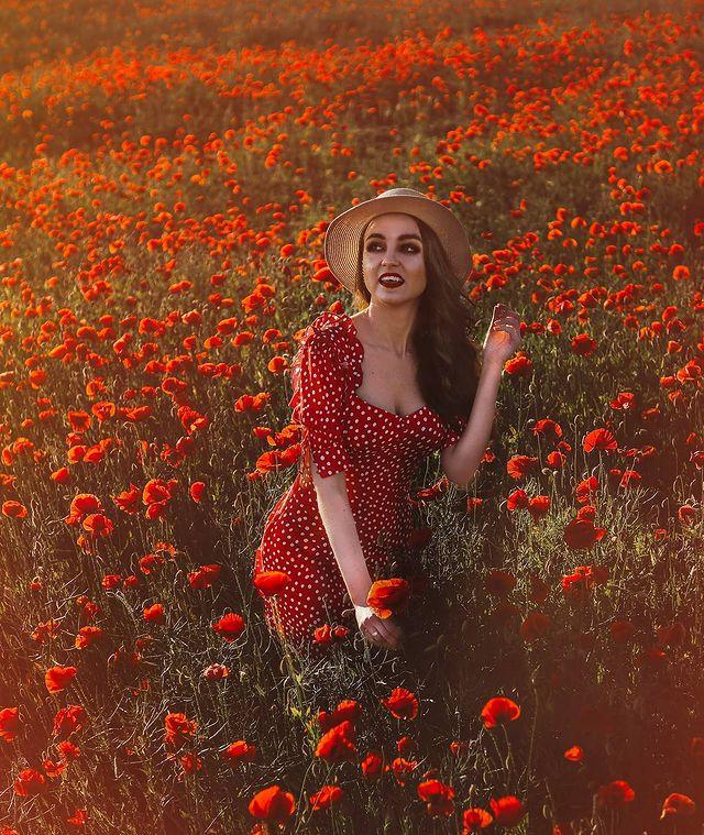 Letni outfit - czerwona sukienka ❤️