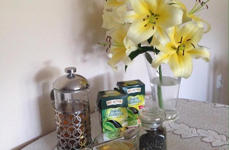 Dlaczego lubię zieloną herbatę?