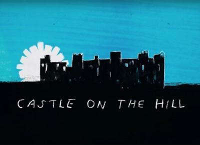 Not pause: Muzyczne nowości ! Ed Sheeran i jego nowy singiel ,,Castle on  the hill