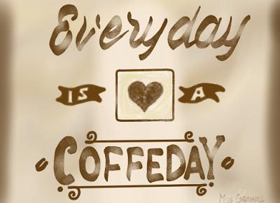 Grayhall's Imagination: Before I die i kawiarnie
