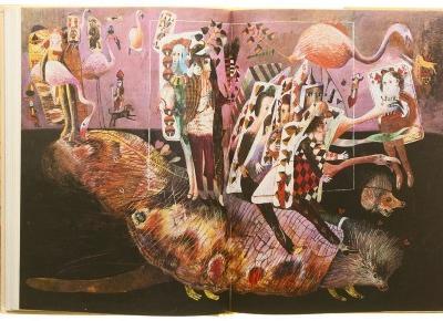 Kolorowa nieograniczona wyobraźnia   ALICJA W KRAINIE CZARÓW. PO DRUGIEJ STRONIE LUSTRA, Lewis Carroll ⋆ Oh My Blog
