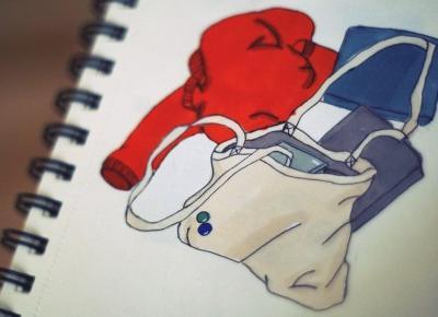 Sketchbook 01: od czegoś trzeba zacząć ⋆ Oh My Blog