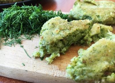 Vegan daily food and recipe share : Kotleciki z brokuła