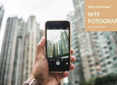 WTF fotografia - fotografia na Instagramie