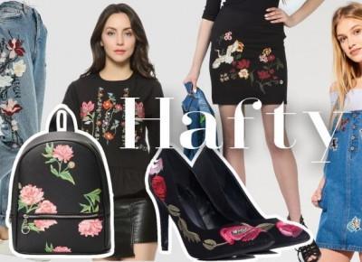 TREND ALERT: Hafty, naszywki i róże. Jeansy z aplikacją, sukienki z różami, haftowane torebki • Ola Brzeska