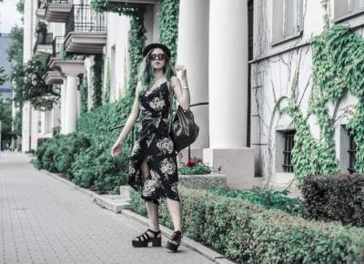 Maxi sukienka w kwiaty. Jak nosić eleganckie suknie w stylu rockowym?