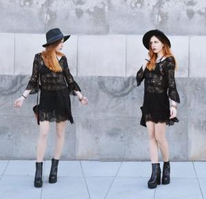 Mix stylów: BOHO i ROCK – Ola Brzeska