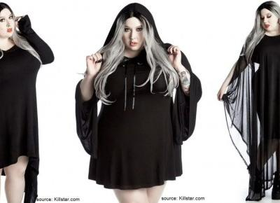 KILLSTAR PLUS SIZE - gotyckie ubrania w rozmiarze 4XL