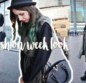 OOTD: Fashion Week look • Ola Brzeska