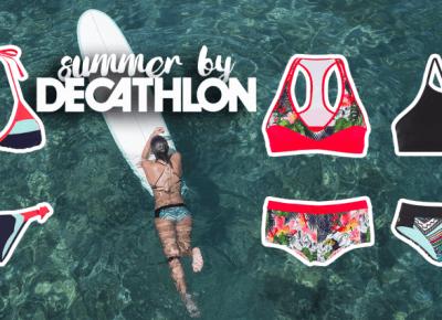 Nowa kolekcja kostiumów Summer by Decathlon - piękne wzory, wiele kombinacji! • Ola Brzeska