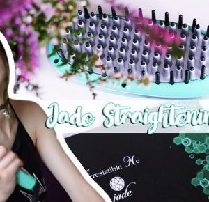 Szczotka-prostownica?! Jade Straightening Brush review • Ola Brzeska