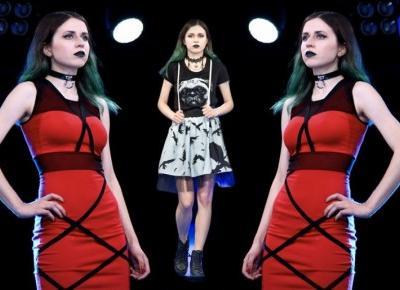 Zostałam modelką! Pokaz mody alternatywnej na Comic Con 2017