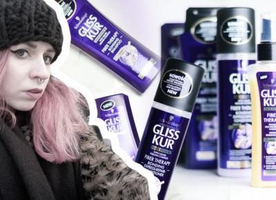 Zabieg PLEX w domu? Nowa linia kosmetyków Gliss Kur do włosów przeciążonych zabiegami fryzjerskimi • Ola Brzeska