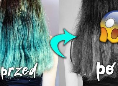 Turkusowy ColorSpray Joanna. Jak szybko odświeżyć kolorowe włosy?