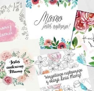 Design your home: Kartki na Dzień Matki-do wydruku