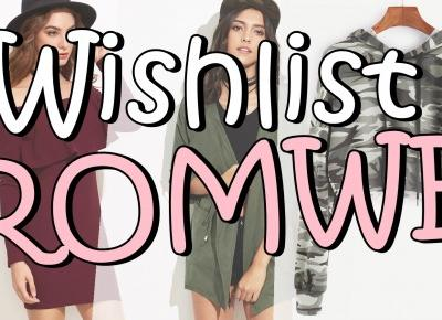 Wishlist Romwe | Ruude Girls
