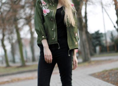 WORLD OF ALEKS: Jacket with flowers