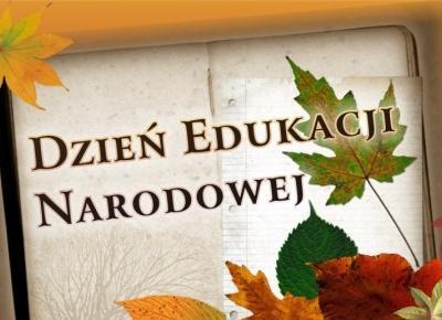 14 Października Dzień Nauczyciela