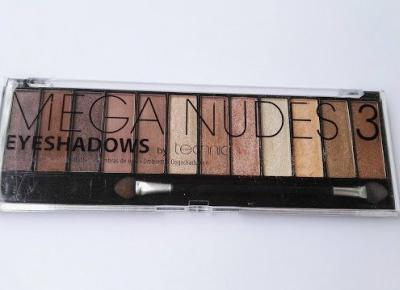 Lifestyle & beauty: Paletka Mega Nudes 3 by technic