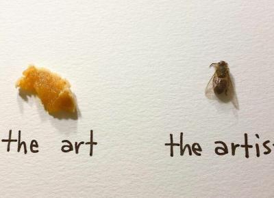 Artystka używa owadów i tworzy małe dzieła sztuki!