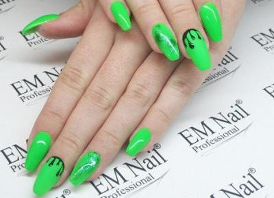 10 ciekawych pomysłów na zielony manicure