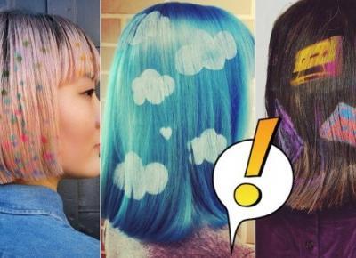 Kolorowe szablony na włosy podbijają sieć. To będzie hit tegorocznych festiwali!