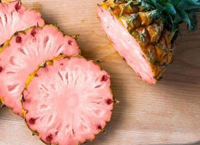 Różowy ananas, czyli obecnie najbardziej instagramowy owoc