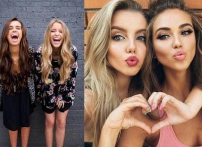 Jak wyjść szczuplej od przyjaciółki na wspólnym selfie?