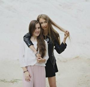 Olusiek Blog: Internetowa przyjaciółka blogerka