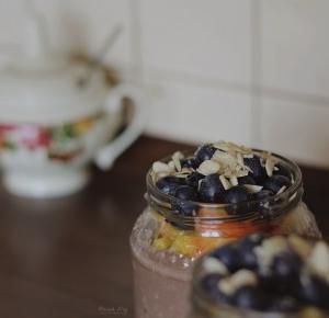 CIY: Owsianka z owocami i migdałami