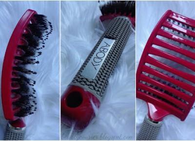 Beauty Courier: Szczotka do włosów Abody