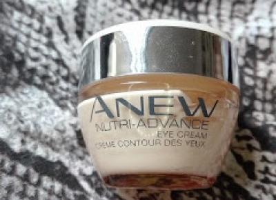 Beauty Courier: Avon - Anew - Nutri Advance - odżywczy krem do pielęgnacji okolic oczu
