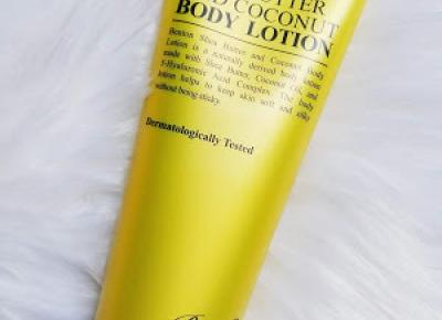 Beauty Courier: Benton - Shea butter and Coconut body lotion