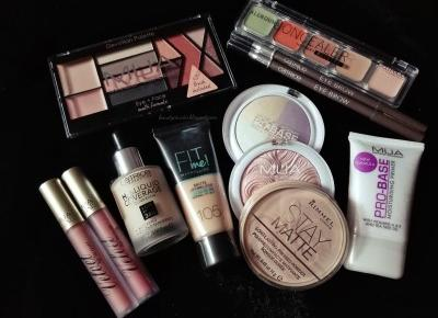 Beauty Courier: Kruidvat makeup haul - co kupiłam na promocji 1+1 gratis?