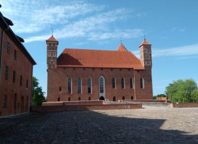 Zamek w Lidzbarku Warmińskim - siedziba biskupów warmińskich
