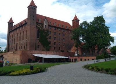 Zamek w Gniewie - największa twierdza Krzyżaków na zachód od Wisły - Ósma zasada.pl
