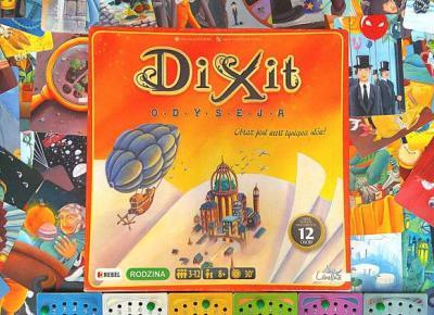 Dixit Odyseja - prosta gra w skojarzenia. Tylko 3 zasady.