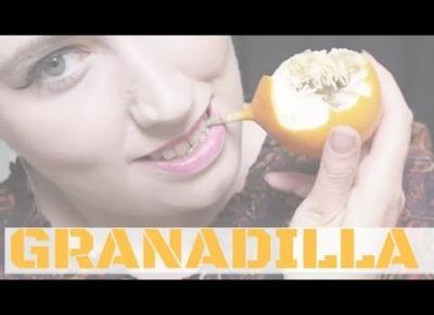 PIERWSZY OWOC: GRANADILLA | FRUIT HUNTERKA #1