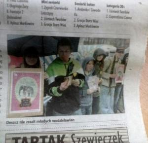 Jestem w gazecie!