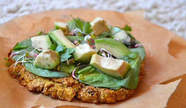 Healthy Dreams: wegańska pizzerka dyniowa-tofu