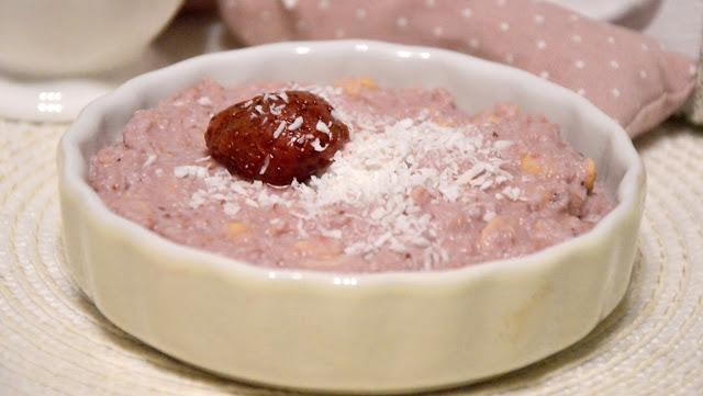 Healthy Dreams: domowy sojowy deserek truskawkowo-kokosowy