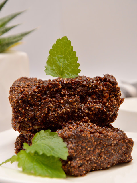 Healthy Dreams: raw mud brownie