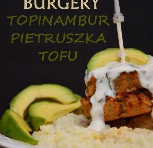Healthy Dreams: najlepsze burgery: topinambur, pietruszka, tofu